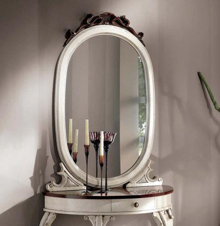 S007 Зеркало овальное