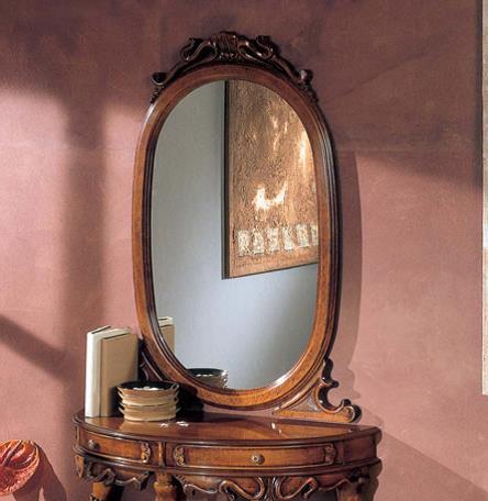 S034 Зеркало овальное
