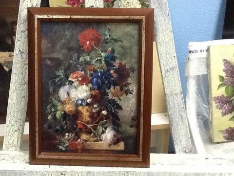Репродукция. Ян ван Хёйсум «Цветы»
