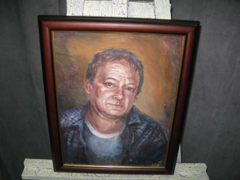 Холст. Масло. «Портрет мужчины»