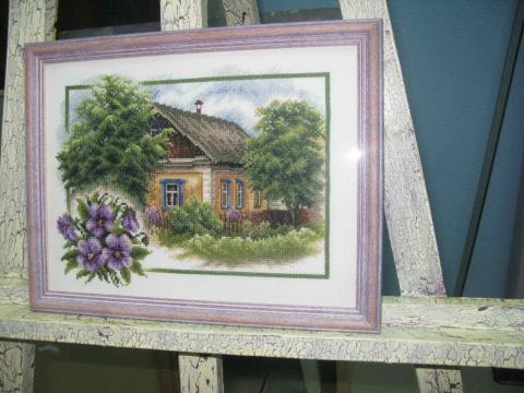 Вышивка «Лето в деревне»