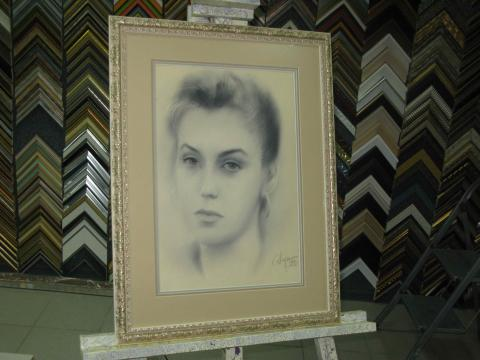 Рисунок. Карандаш. «Портрет»