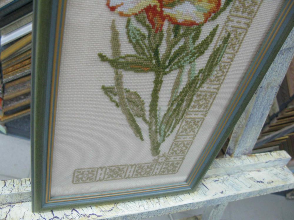Вышивка «Цветы сливы»