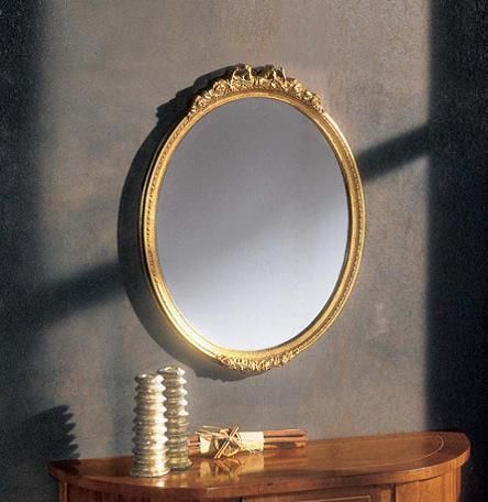 S033 Зеркало овальное